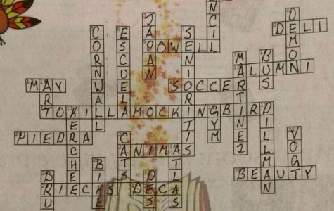 November Crossword Puzzle Solutions