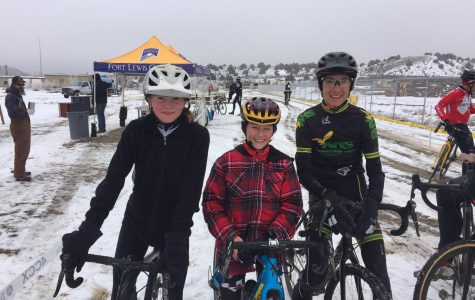 Cyclocross: biking on snow