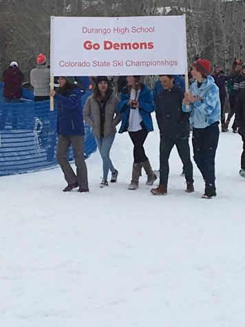 Ski Team Races to State