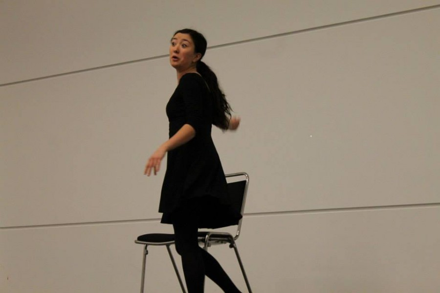 Senior+Rebekah+Hwang+performing+her+Individual+Event+at+the+Colorado+Thespian+Festival