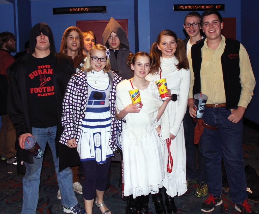 Force Awakens Star Wars fans with third trilogy premiere