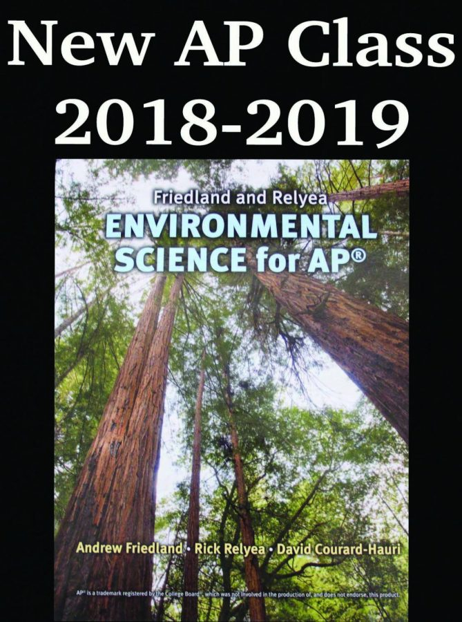 New AP Environmental Science Course...what will it offer?